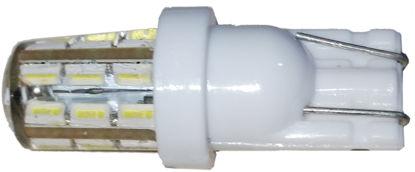 Imagem de C320 - T10 24 3014 Silicone Branco 12V (base plastica)