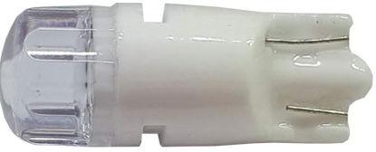 Imagem de C387 - T10 2 2835 SMD Ambar Lente Roma Cristal  12V