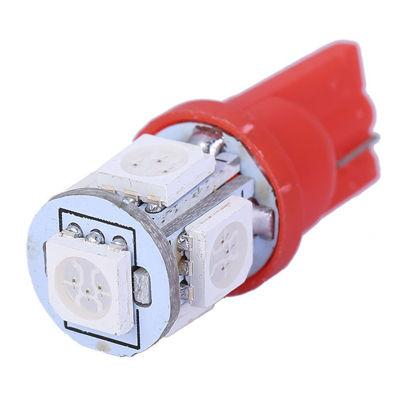 Imagem de C085 - T10 Esmagada 5 SMD Vermelho (meia-luz)