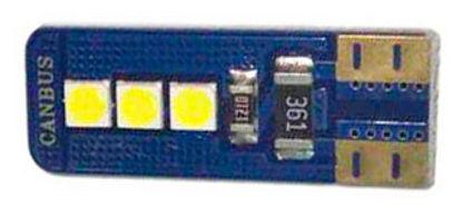 Imagem de LT10-801 - Led T10 6 3030 SMD (Canceller) Branco 12V