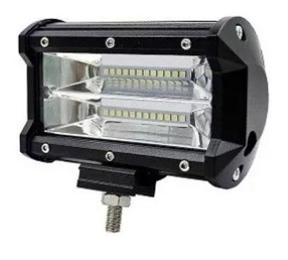 Imagem de F72W-SMD - Farol Off Road LED SMD 72W 12-30V (L:13,5cm x A:8cm)