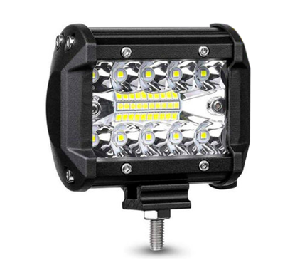 Imagem de F60W-SMD - Farol Off Road LED SMD 60W 12-24V 6000K (L:10cm x A:8,3cm)