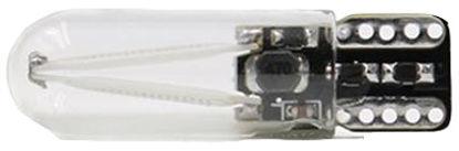 Imagem de C361 - T10 Silicone 2 Filamentos COB Azul