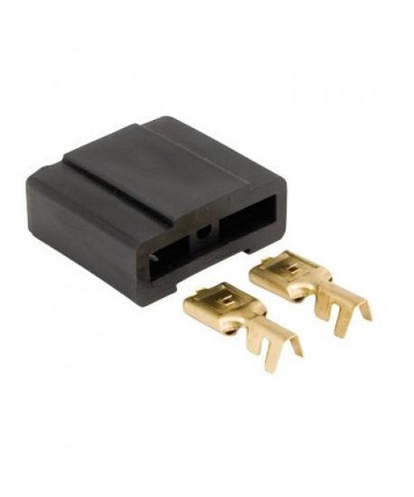Imagem de EKFPM - Kit 2 Base Fusível Maxi + 4 Terminais Femea 9,7mm