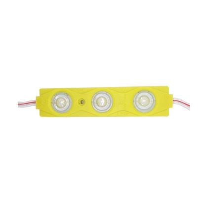 Imagem de C448-SMD - Modulo Led 3 SMD 5630 Lente Difusora Amarelo 12V IP67