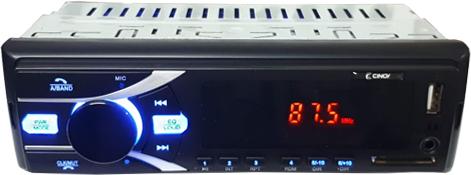 Imagem de RADBT01 - Radio USB/SD/MP3/FM BLUETOOTH 4x25W Cinoy