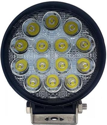 Imagem de B642 - Farol Spot OFF ROAD 14 LEDS 42W BIVOLT