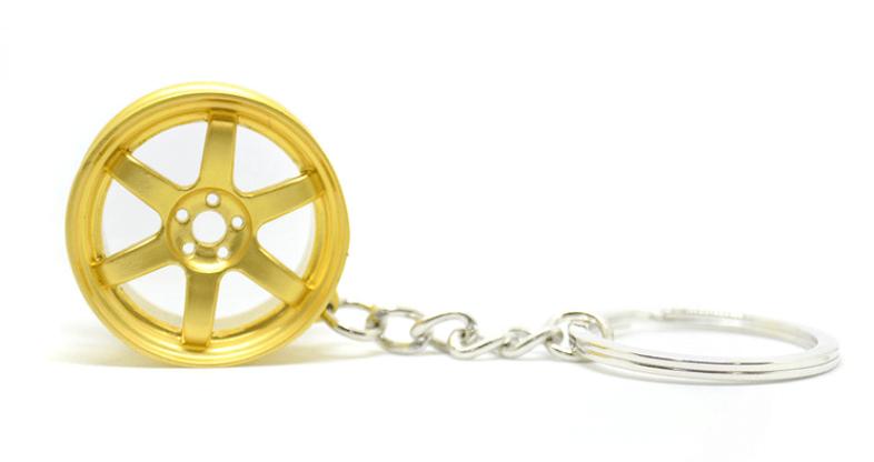 Imagem de CH5023 - Chaveiro Roda TE37 Dourada