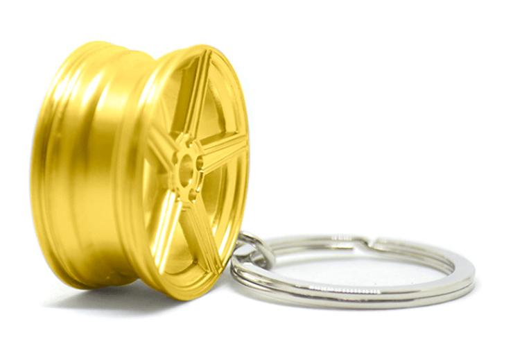 Imagem de CH5032 - Chaveiro Roda KV1 Dourada