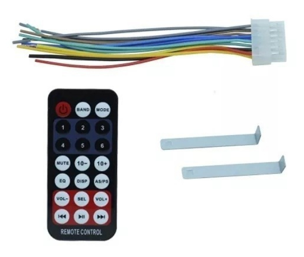 Imagem de RADBT04 - Radio USB/SD/MP3/FM BLUETOOTH 4x25W com Controle Winner