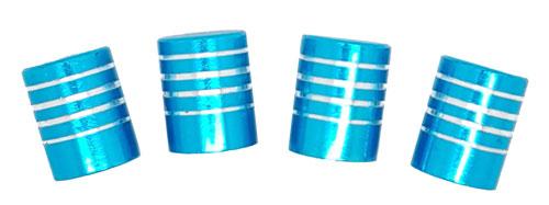 Imagem de TB0634AZ - Tampa Bico Ventil Azul Listrada
