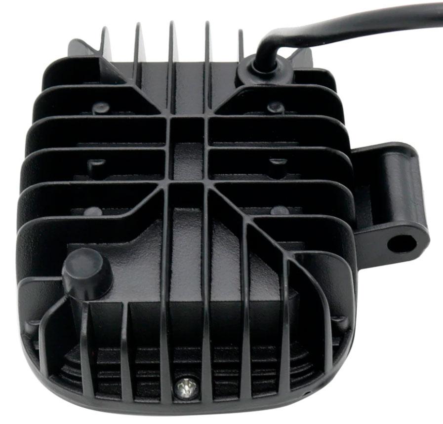 Imagem de F30W-MQ - Farol Quadrado 30W Mascara Negra Bivolt (feixe linear)