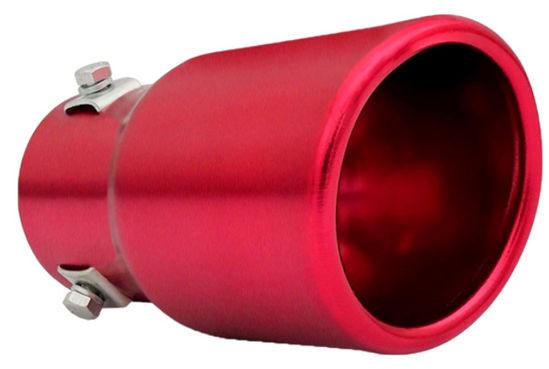 Imagem de PEVM-CN - Ponteira de Escapamento Vermelha Cinoy (diametro 6cm)