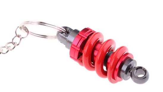 Imagem de CH5055-Chaveiro Amortecdor e Mola Esportivo Vermelho
