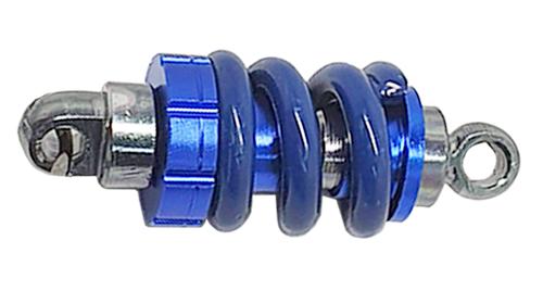 Imagem de CH5053-Chaveiro Amortecedor c/ Mola Esportiva Azul