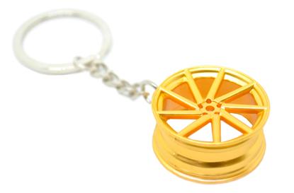 Imagem de CH5020 - Chaveiro Tuning Roda Vossen Dourada