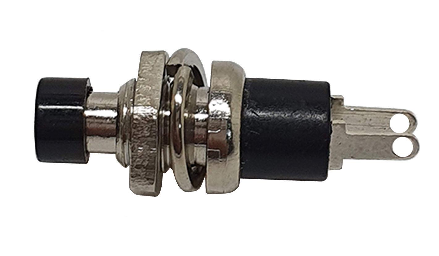 Imagem de CHAPB-PT  -  Mini Chave Push Button 1A Preto