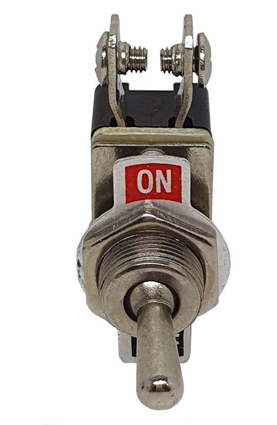 Imagem de CHA2T-01 - Chave Alavanca ON/OFF 2 Terminais 6A/125V 3A/250V