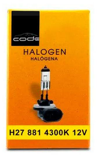 Imagem de H27CODE -  Lâmpada Convencional H27 881 12V 27W CODE